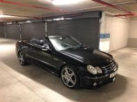 Used Mercedes-Benz CLK CLK63 AMG cabriolet for sale in Cape Town, Western Cape